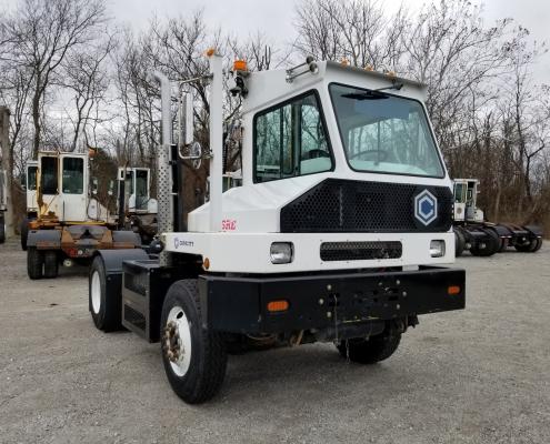 Capacity yard truck sabre model