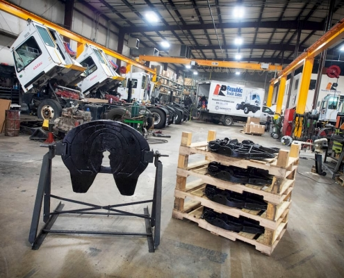 Used spotter truck parts