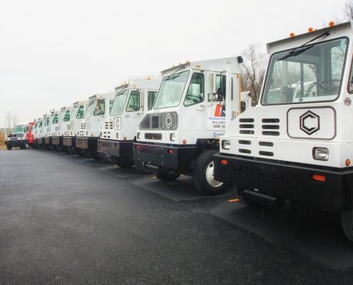 Yard truck Leasing